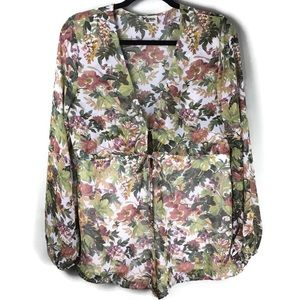 Show Me Your Mumu Floral Zoe Romper Size Small